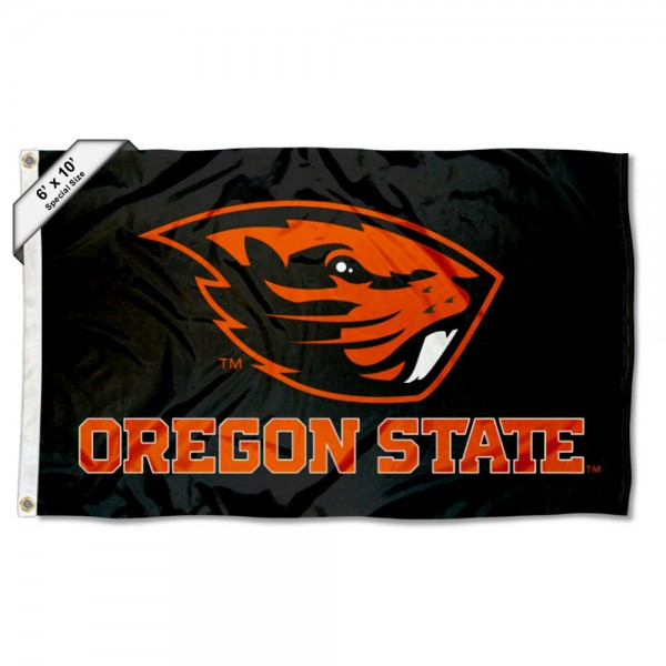 Oregon State Beavers Large 6x10 Flag