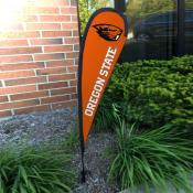 Oregon State Beavers Mini Teardrop Garden Flag