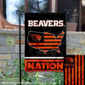 Oregon State Beavers Nation Garden Flag