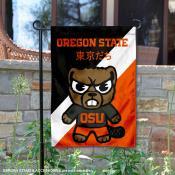 Oregon State Beavers Yuru Chara Tokyo Dachi Garden Flag