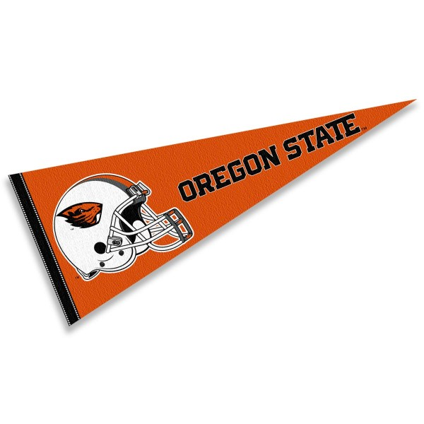 Oregon State University Football Helmet Pennant