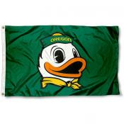 Oregon The Duck Logo Flag