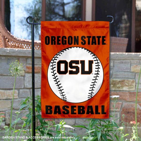 OSU Beavers Baseball Garden Flag