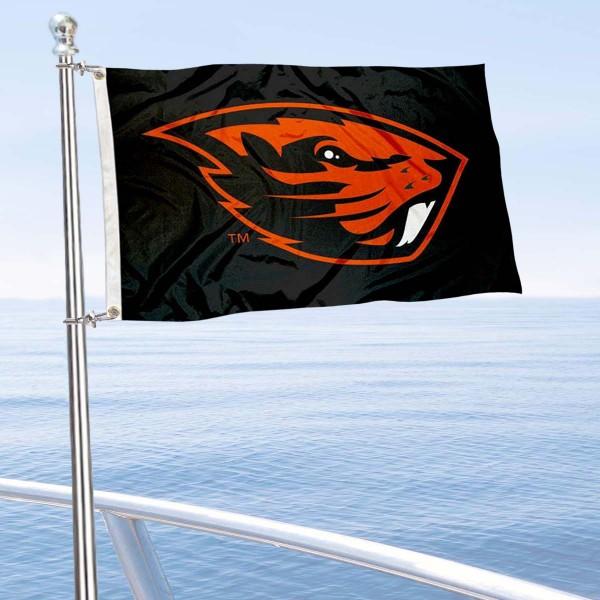 OSU Beavers Boat Nautical Flag
