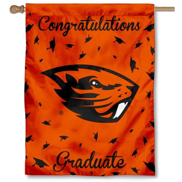 OSU Beavers Graduation Banner