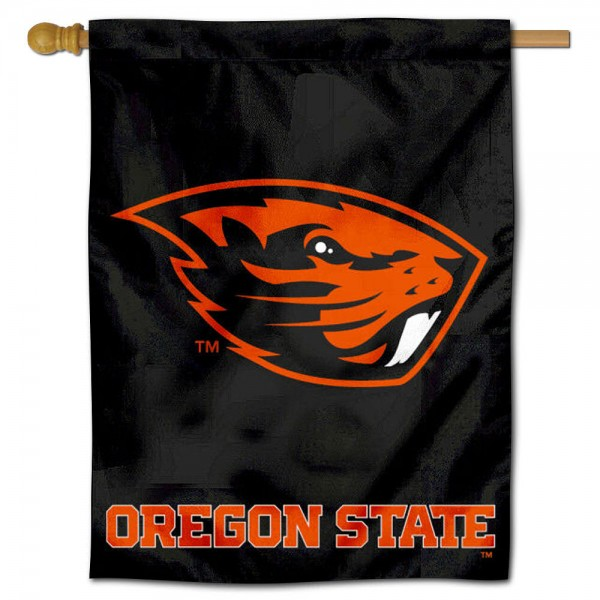 OSU Beavers Polyester House Flag