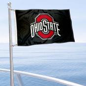OSU Buckeyes Boat Nautical Flag