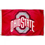 OSU Buckeyes Nylon Flag