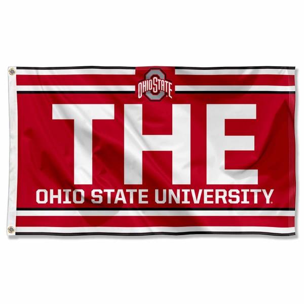OSU Buckeyes THE Logo 3x5 Foot Flag