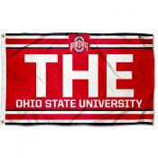 OSU Buckeyes THE Logo 3x5 Foot Flag
