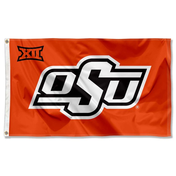 OSU Cowboys Big 12 Flag