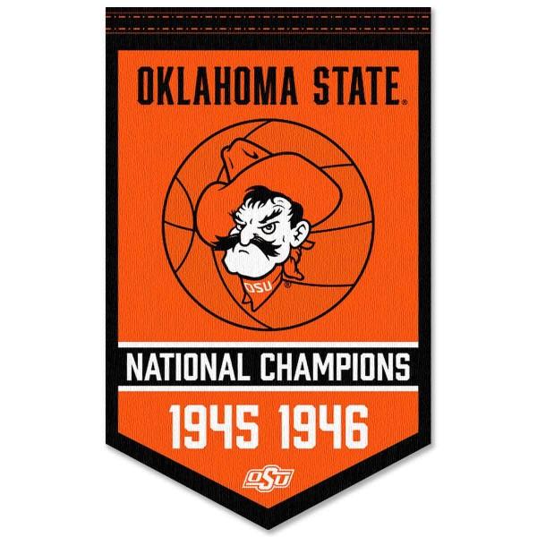 OSU Cowboys College Basketball National Champions Banner
