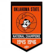 OSU Cowboys College Basketball National Champions Banner