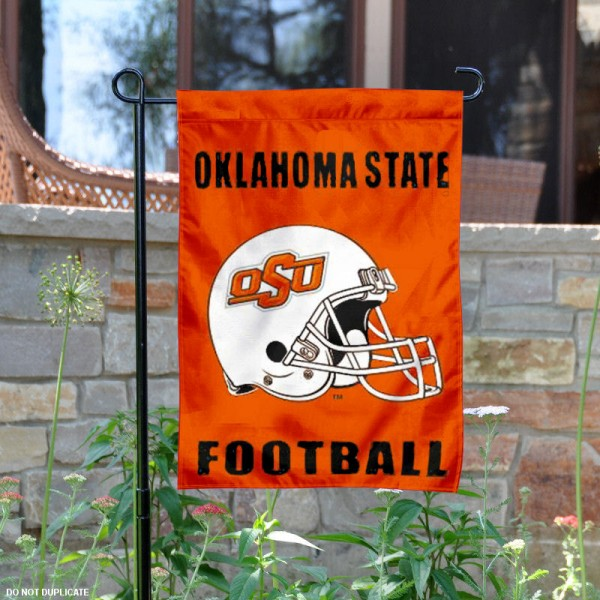 OSU Cowboys Football Garden Flag