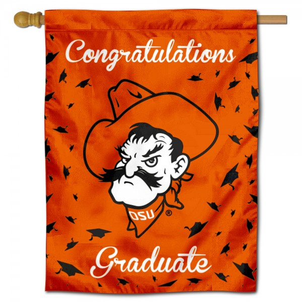 OSU Cowboys Graduation Banner