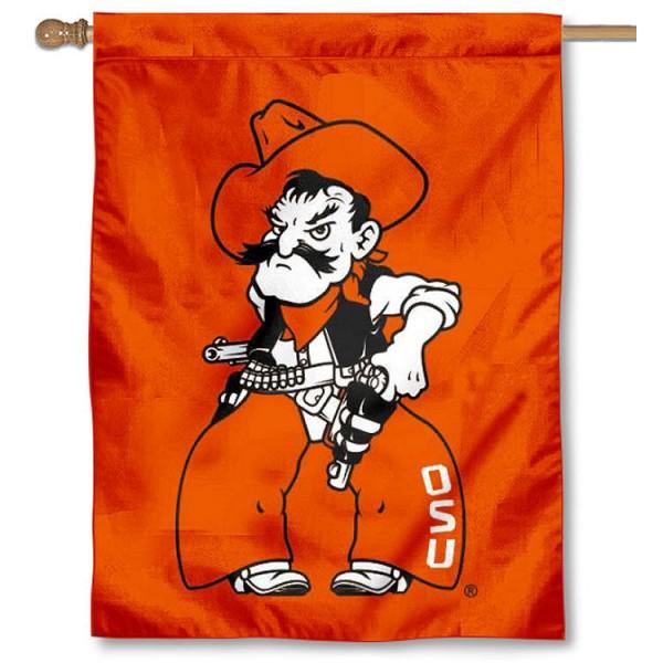 OSU Cowboys Pistol Pete House Flag