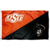 OSU Cowboys Pistol Pete Mascot Outdoor Flag
