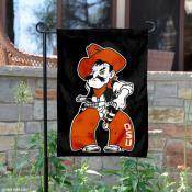 OSU Pistol Pete Garden Flag