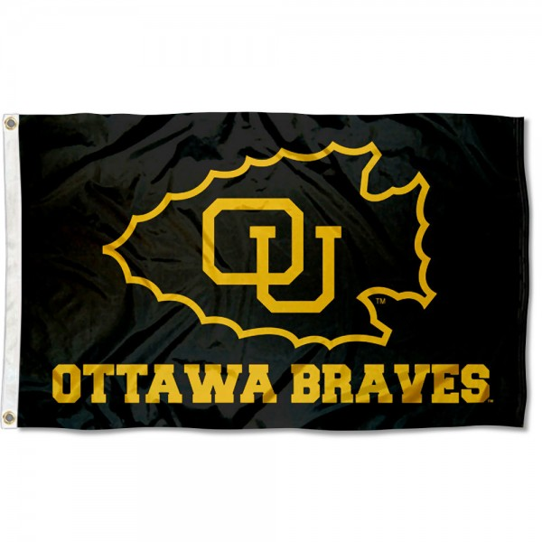 Ottawa University Black Flag