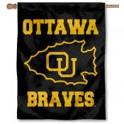 Ottawa University House Flag