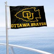 OU Braves Boat Nautical Flag