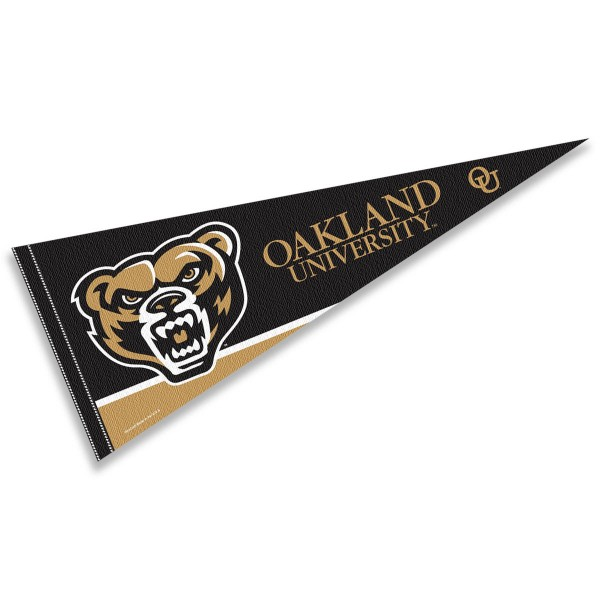 OU Golden Grizzlies Pennant