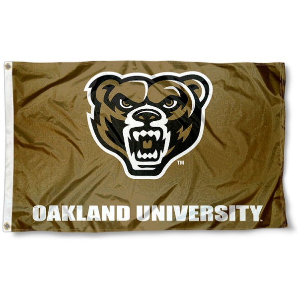 OU Grizzlies 3x5 Foot Pole Flag