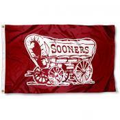 OU Sooner Schooner Flag