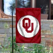 OU Sooners Baseball Garden Flag
