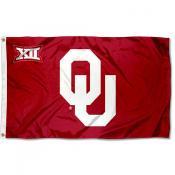 OU Sooners Big 12 Flag