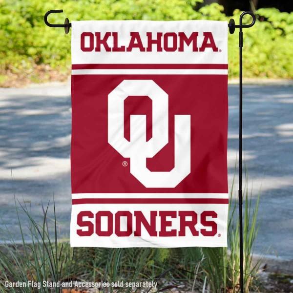 OU Sooners Garden Flag
