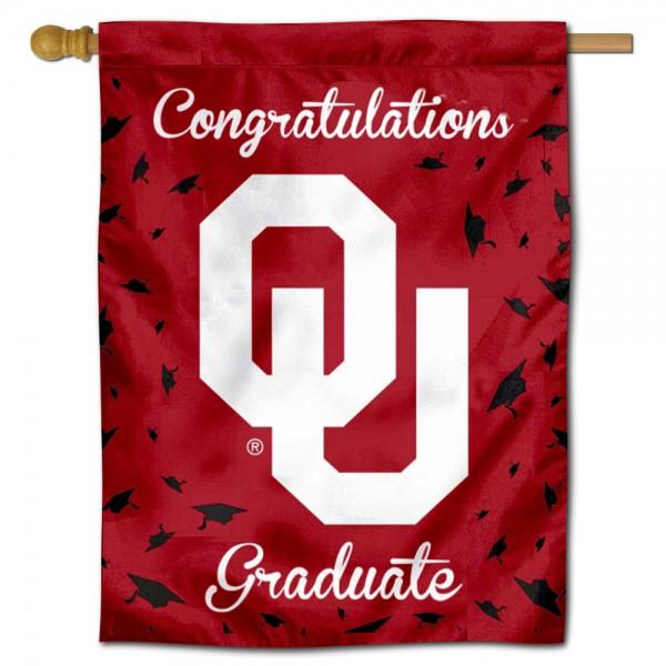 OU Sooners Graduation Banner