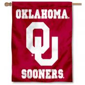 OU Sooners House Flag - Red