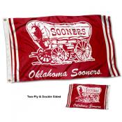 OU Sooners Vintage Two Sided 3 by 5 Foot Flag