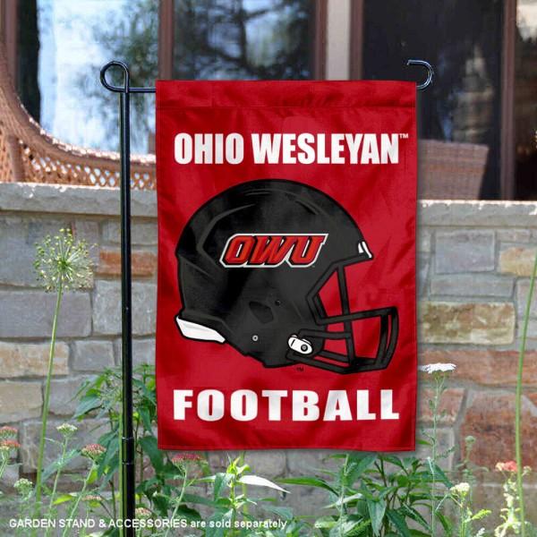 OWU Battling Bishops Football Garden Flag