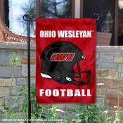 OWU Battling Bishops Football Garden Flag