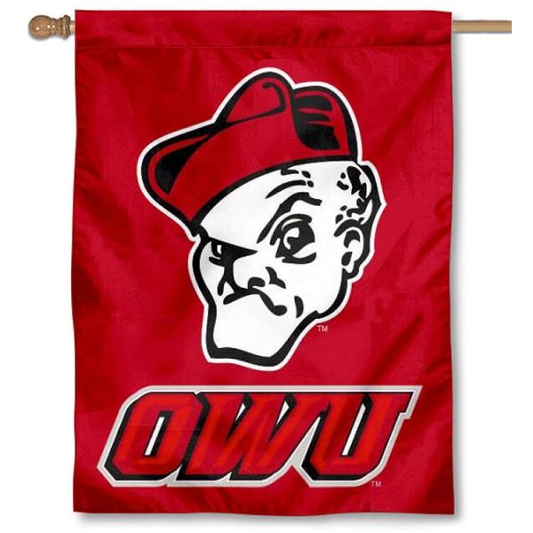 OWU Battling Bishops House Flag