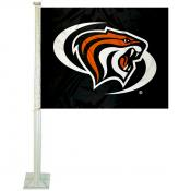 Pacific Tigers Logo Car Flag