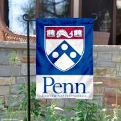 Penn Quakers Academic Shield Garden Flag