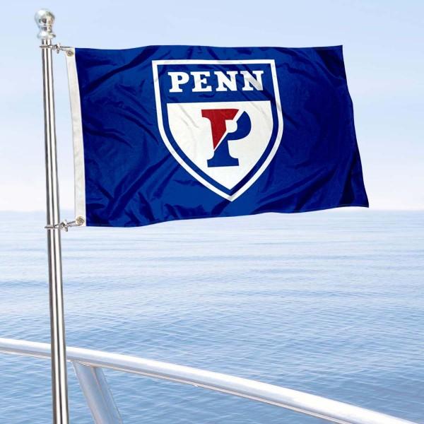 Penn Quakers Boat Nautical Flag