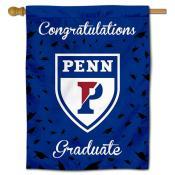 Penn Quakers Graduation Banner
