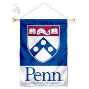 Penn Quakers Window Hanging Banner with Suction Cup