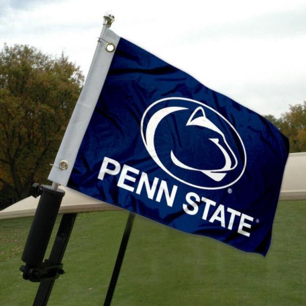 Penn State Golf Cart Flag