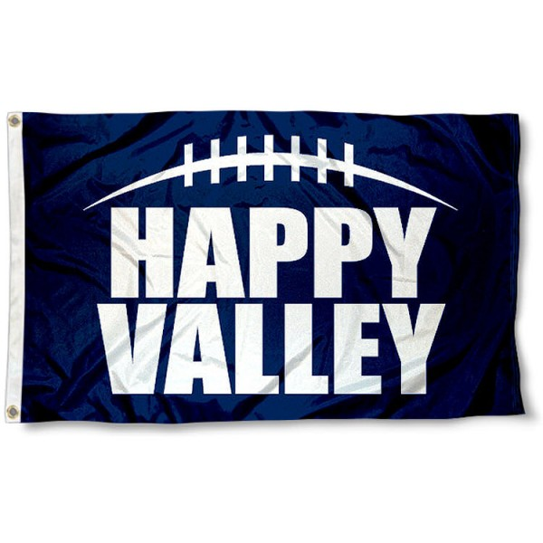 Penn State Happy Valley Flag