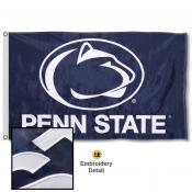 Penn State Nittany Lions Appliqued Nylon Flag