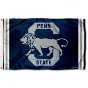 Penn State Nittany Lions Retro Vintage 3x5 Feet Banner Flag