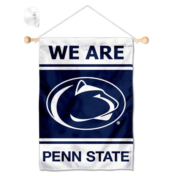 Penn State Nittany Lions Window Hanging Banner with Suction Cup
