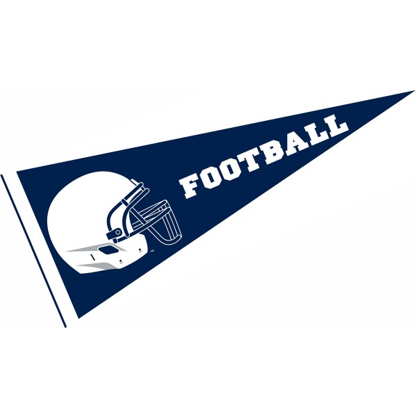 Penn State University Football Helmet Pennant