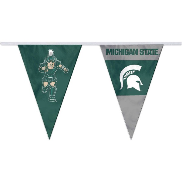 Pennant Flags for MSU Spartans