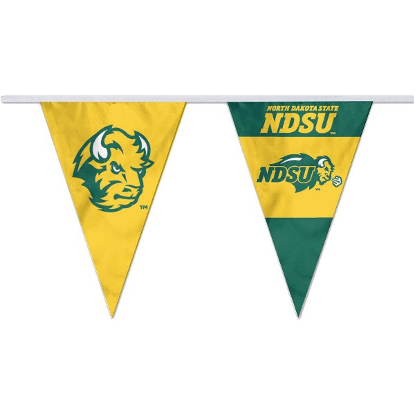 Pennant Flags for NDSU Bison